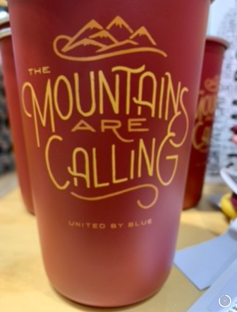 mountains coffee